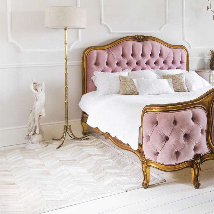 Interior Design: Blush Pink Accent Pieces