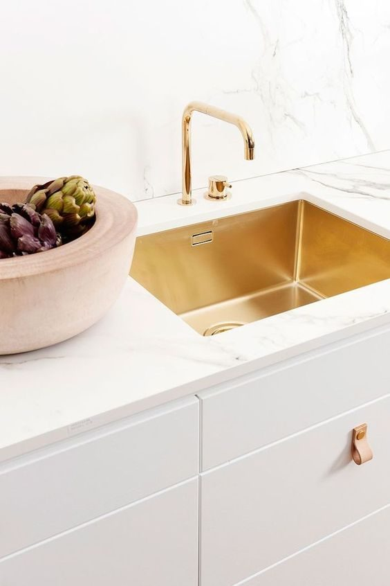Interior Design: Brushed Brass Details