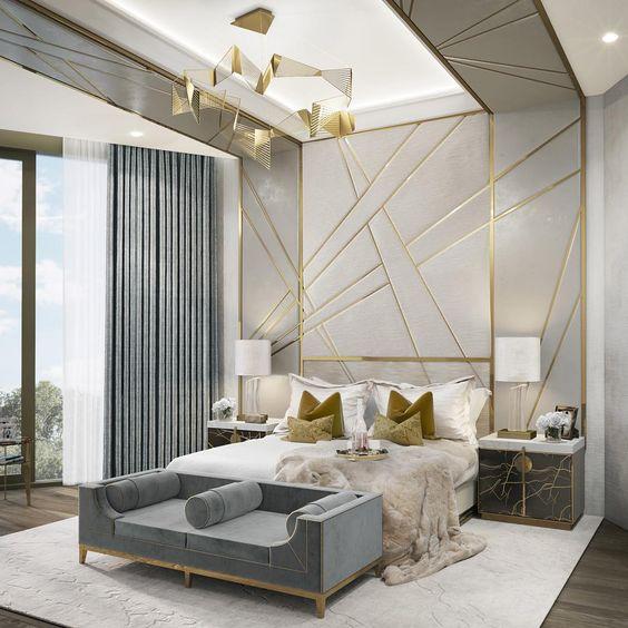 Interior Design: Brushed Brass Details