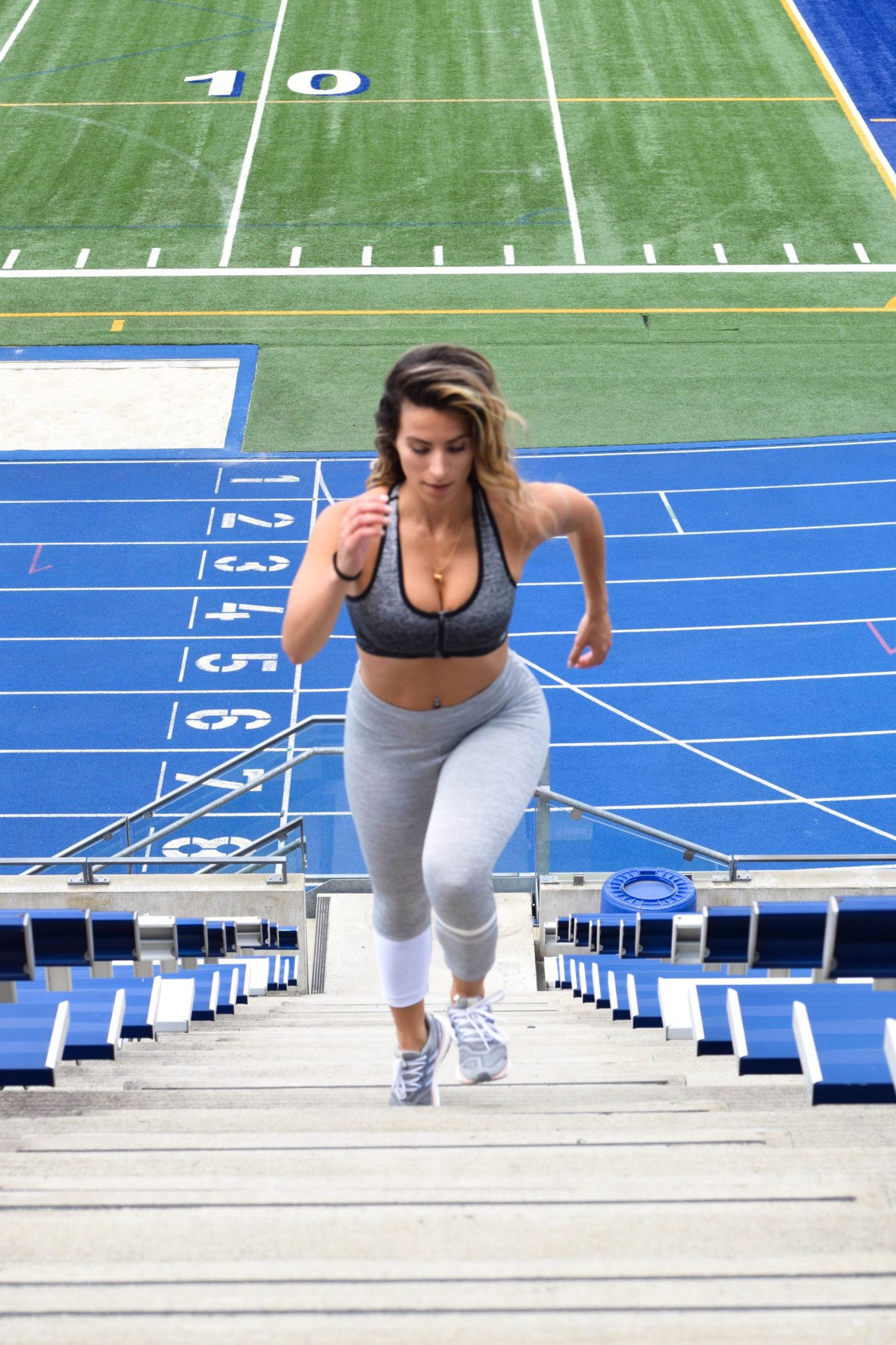 Motivation Monday: Running Stairs- The Best Cardio!